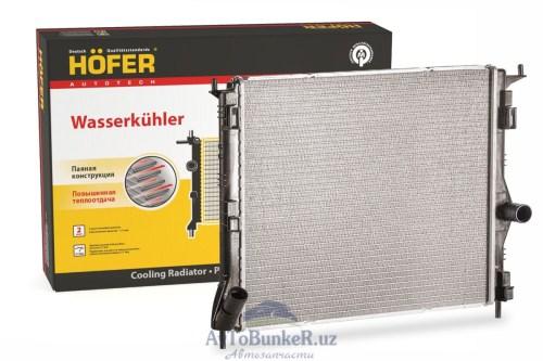 Радиатор основной/без конд. /Largus 8 кл.,16 кл. (HF708464) /Hofer/