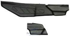 """Накладки на ковролин тоннельные(2 шт) (ABS) Lada Vesta,Vesta SW """"ЯрПласт"""""""