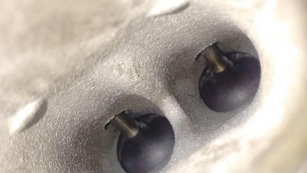 Отложения на входном клапане