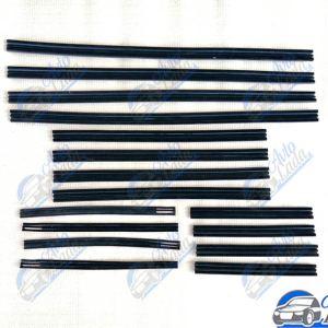 Lada bársonyos gumi (ablakvezető gumisín) garnitúra