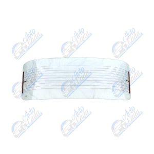 2101 Lada hátsó szélvédő fűtőszálas