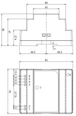 50W/12-24V/DIN габариты