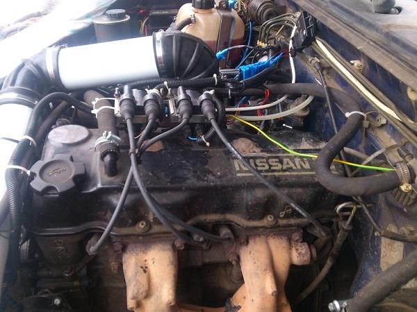 Nissan Terrano двигатель