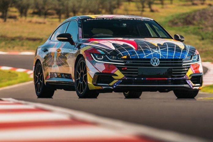 Volkswagen переделал Arteon в 500-сильный гоночный суперкар