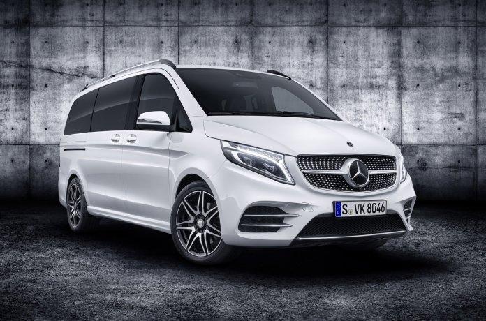 Mercedes-Benz покажет в Женеве электрический V-Class