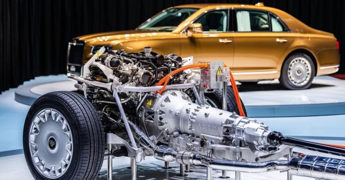 Новый внедорожник УАЗа получит гибридные технологии Aurus