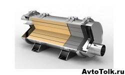 Сажевый фильтр в выпускной системе автомобиля