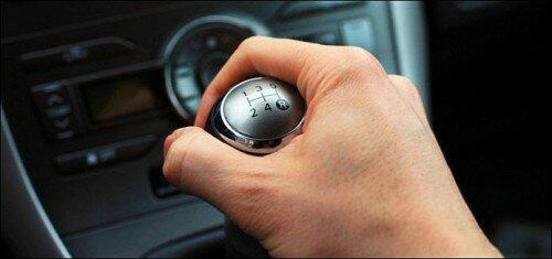 Вождение автомобиля с механической коробкой передач