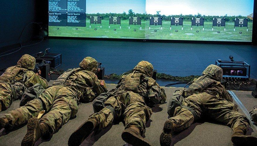 Gun Range Simulator (Source: National Defense Magazine)