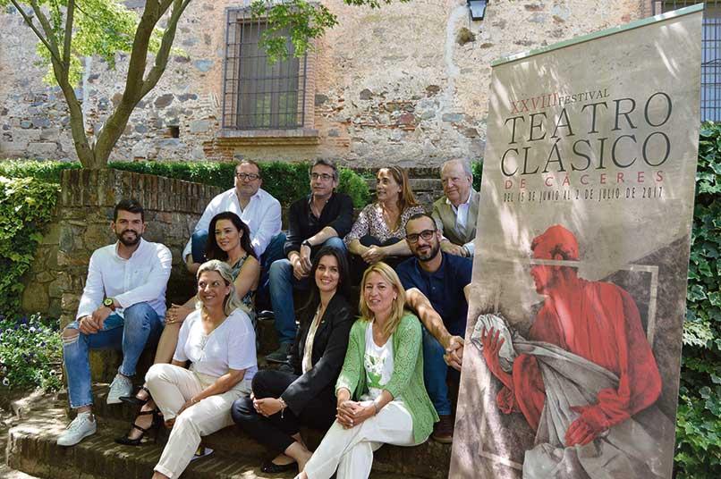 El XXVIII Festival de Teatro Clásico apuesta  por Cervantes y las dos compañías nacionales