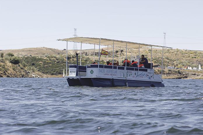 Crucero y aventuras en el Parque Internacional Tajo-Tejo