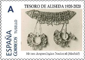 Sello centenario del Tesoro de Aliseda