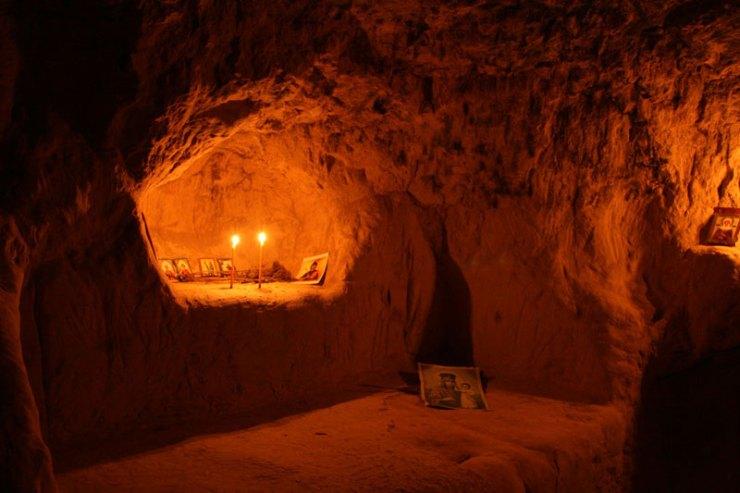 Пещеры. Китаевская пустынь