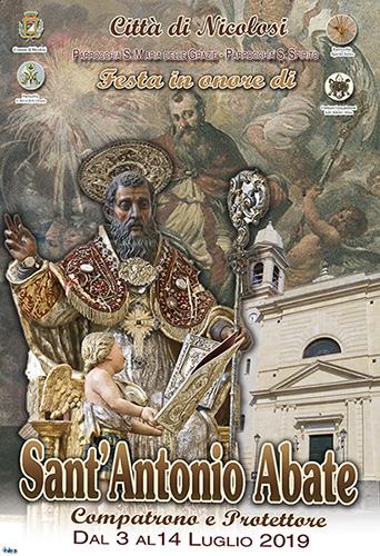Festa di S. Antonio Abate 2019 a Nicolosi - Studio Legale Basilio Elio Antoci Avvocato a Catania e Nicolosi