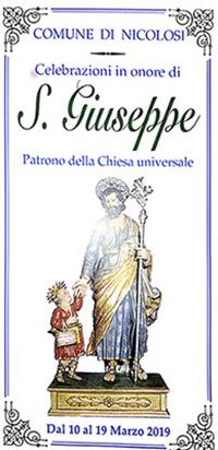 San Giuseppe 2019: orari dello studio
