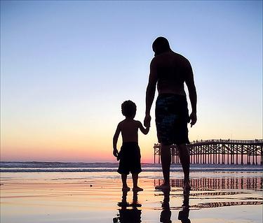affidamento figli padre