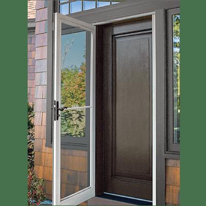 fullview retractable storm doors