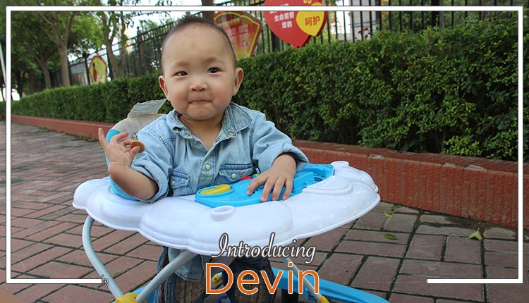 "China Pre-Referral:  Meet ""Devin""!"