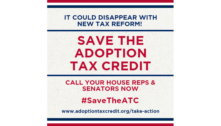 Adoption Tax Credit to Disappear with Tax Reform