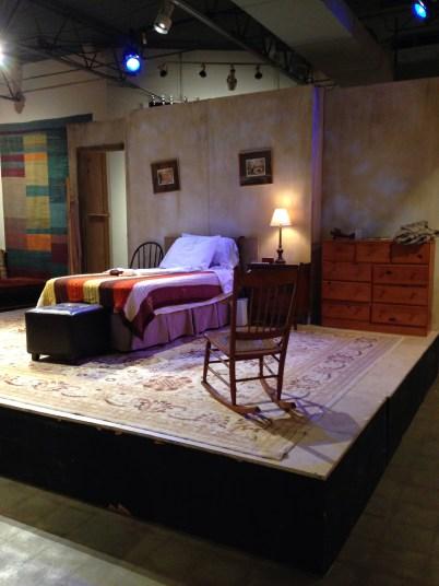 "The Set of ""Vigil"" at Cherry Creek Theatre, Oct. 2013"