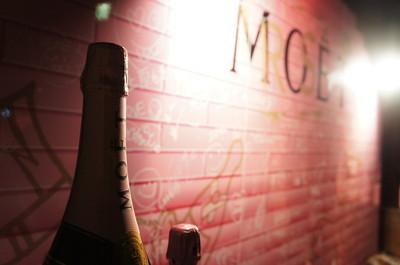 "Moet Rose ""GRAFFITI PARTY"" @Le Baron Tokyo"