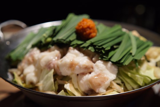 麻布十番 モツ鍋とお酒のつまみ 「博多ほたる」