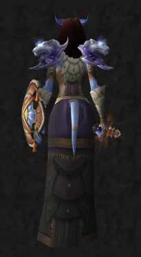 Back - Female Draenei Shaman