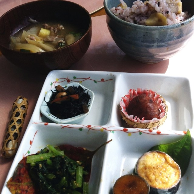Yummy Autumn Japanese food