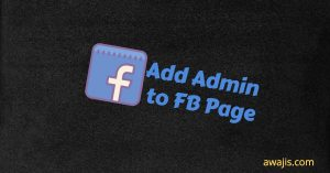 add admin to fb page