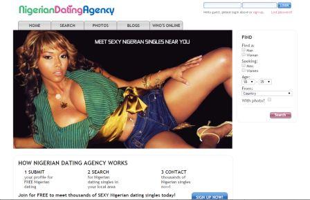 nigeriadatingagency screenshot