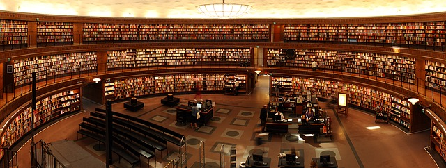 library for masters students