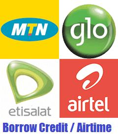 borrow credit / airtime