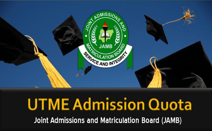 jamb admission quota
