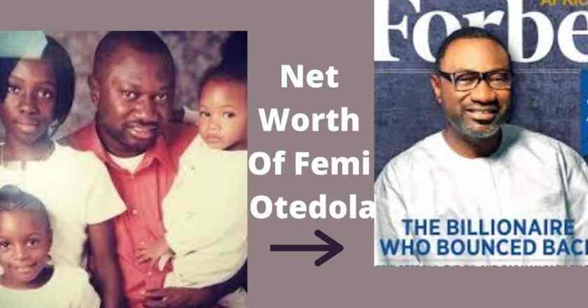 Net Worth Of Femi Otedola