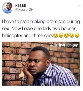 Promises getting you into trouble