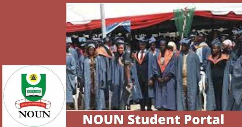 NOUN Student Portal