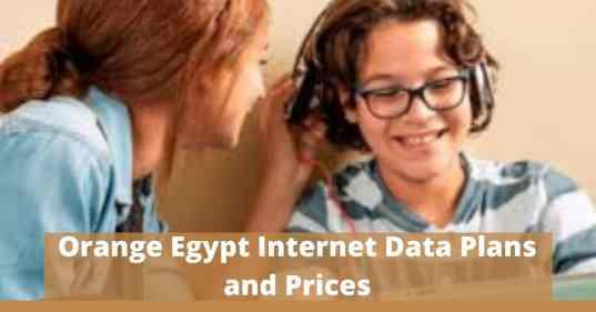 Orange Egypt Internet Data Plans and Prices