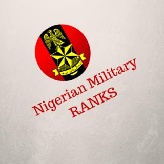 nigeria military rank