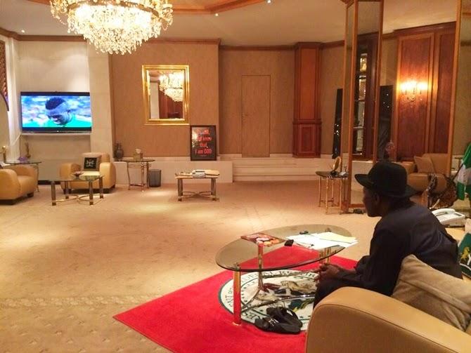 Aso Rock Presidential Villa