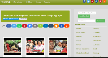 Websites to Download Nigerian Movies