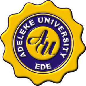 Adeleke University Course