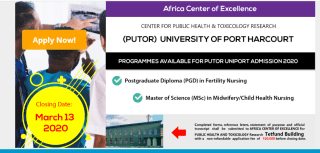 UNIPORT ACEPUTOR Postgraduate Form
