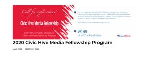 BudgIT Civic Hive Media Fellowship Program