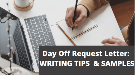 Day Off Request Letter: Writing Tips and Samples