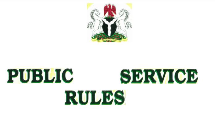 nigeria public service rules 2008