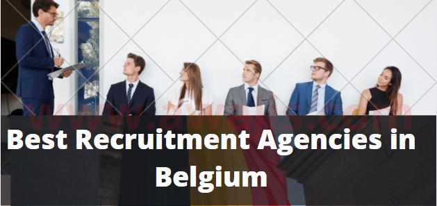Best Recruitment Agencies in Belgium