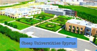 cheapest universities cyprus