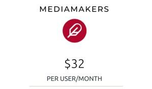 mediamakers product label