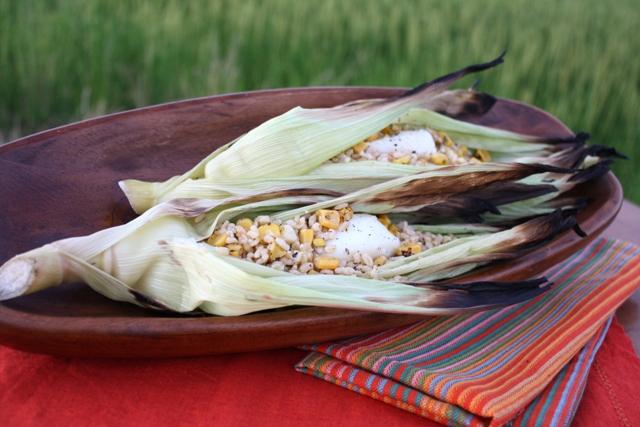 Image result for Corn Husk leaf food