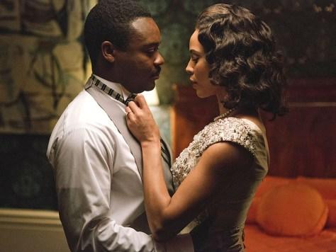 David Oyelowo and Carmen Ejogo in Selma
